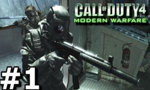 call of duty 4 Modern Warfare 1 game