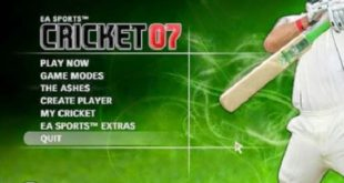 ea sports cricket 2007 game