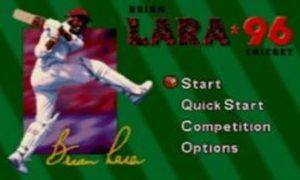 Brian Lara Cricket 1996 game