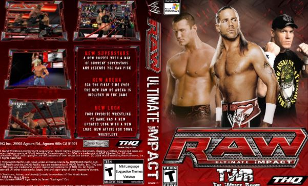 Download WWE Raw Ultimate Impact Game For PC Full Version