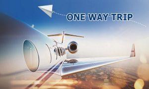 one way flight game