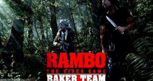rambo the video game baker team game