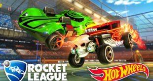 rocket league hot wheels edition game