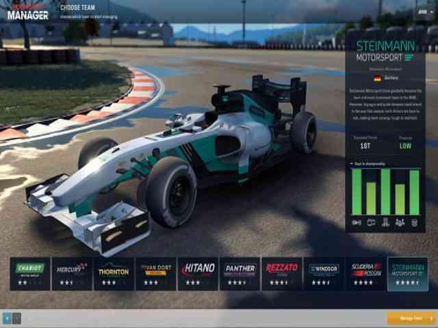 Motorsport Manager Challenge Pack Free Download Full Version