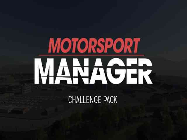 Motorsport Manager Challenge Pack PC Game Free Download