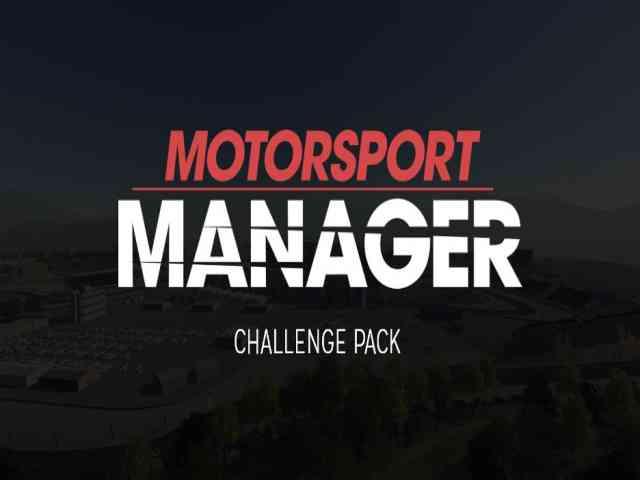 Motorsport Manager Challenge Pack PC Game Free Download