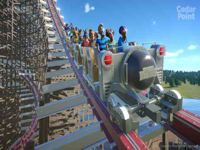 Planet Coaster Cedar Points Steel Vengeance Free Download For PC