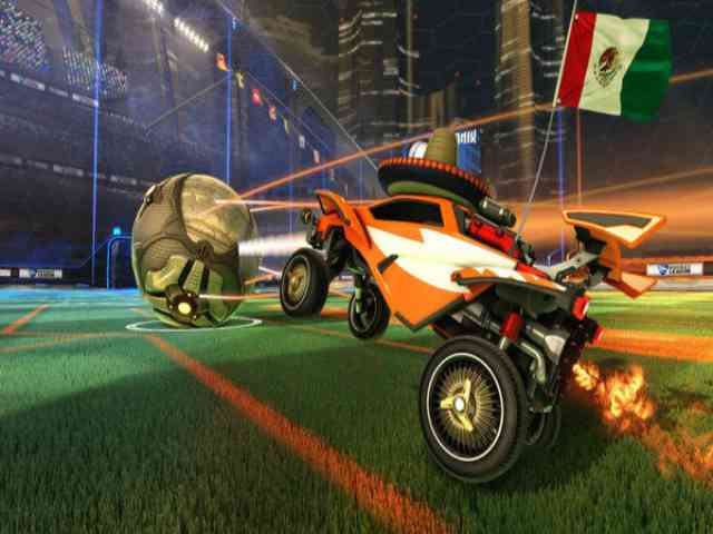 Rocket League The Fate and The Furious Free Download For PC