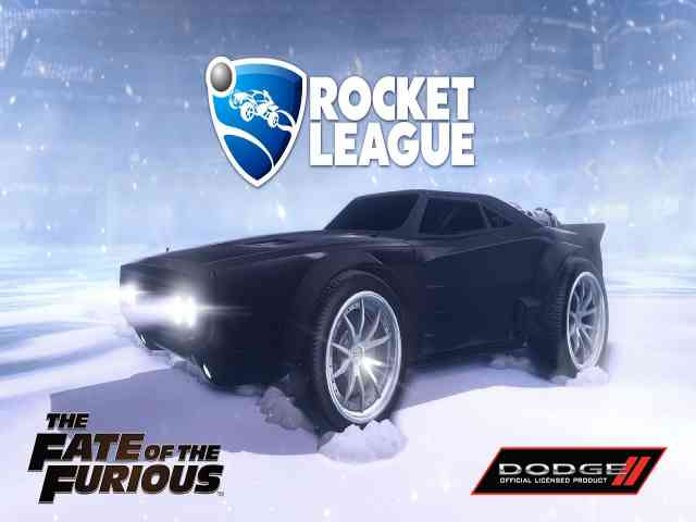 Rocket League The Fate and The Furious PC Game Free Download