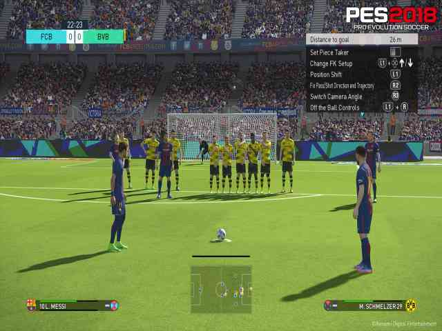 Pro Evolution Soccer 2018 Free Download For PC