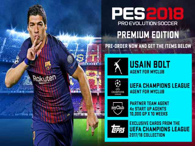 Pro Evolution Soccer 2018 Free Download Full Version