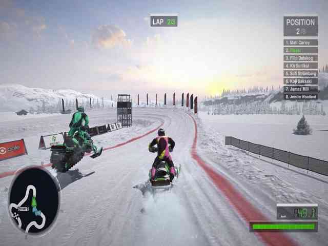 Snow Moto Racing Freedom Free Download For PC