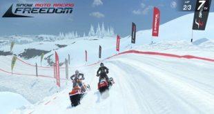 snow moto racing freedom game