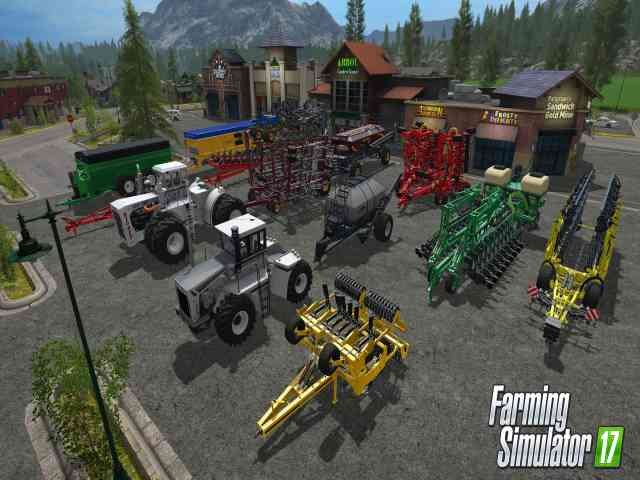 Farming Simulator 17 Platinum Edition Free Download For PC