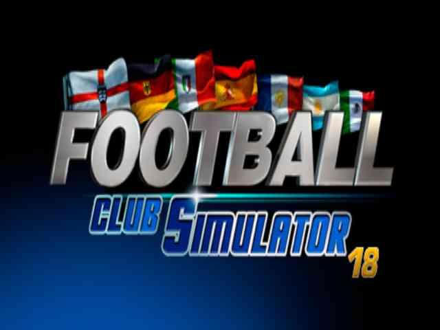 Football Club Simulator 18 PC Game Free Download