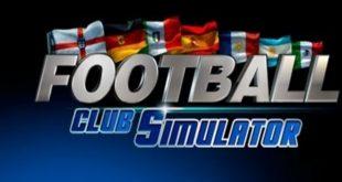 football club simulator 18 game