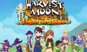 harvest moon light of hope game