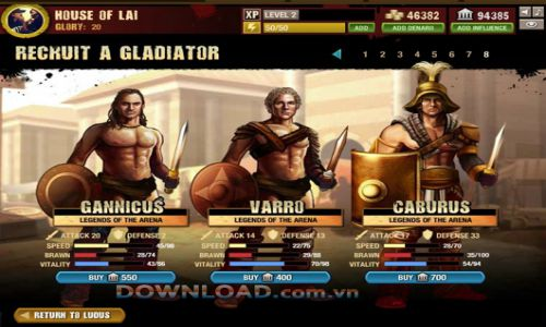 Gladiator School Free Download For PC