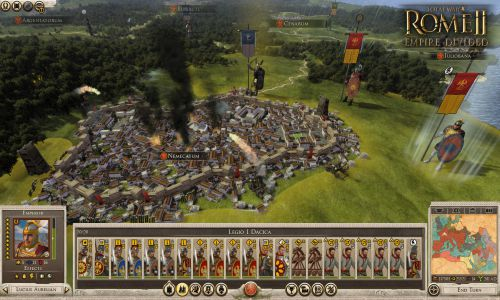 Total War Rome II Empire Divided Free Download For PC