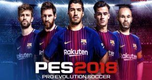 pes 2018 game