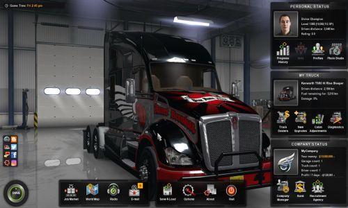 Download American Truck Simulator Setup