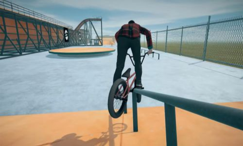 Download BMX Streets Pipe Highly Compressed