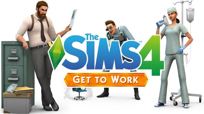 Download The Sims 4 Get to Work Game For PC Free Full Version