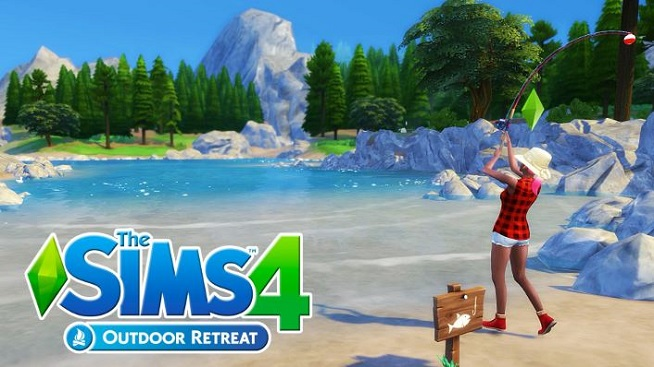 Download The Sims 4 Outdoor Retreat Game For PC Free Full Version
