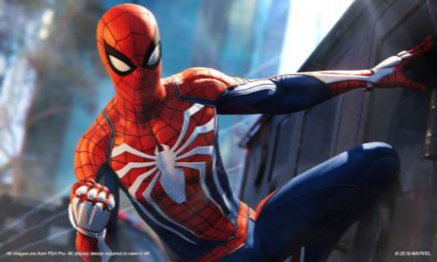 Marvel's Spider Man 2018 game