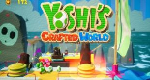 Yoshi's Crafted World game