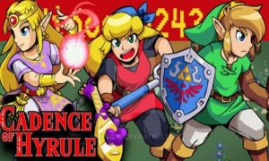 Cadence of Hyrule game