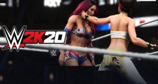 WWE 2K20 game