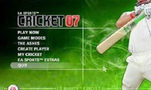 EA Sports Cricket 2007 game